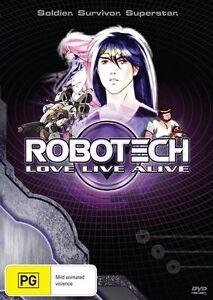 Robotech - Love, Livelive (DVD, 2013) REGION 4 BRAND NEW