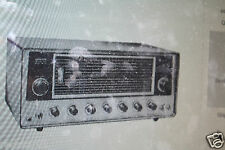 HUGE MANUAL LAFAYETTE  RADIO SERVICE MANUAL CD