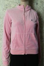 Juicy Couture Pink Velour Jacket Scottie Dog Large L