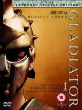 Gladiator [EXTENDED SPECIAL EDITION] (DVD, 3-Disc Set) .. FREE UK P+P .........