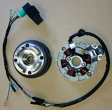COMPLETE HONDA TRX70 STATOR KIT CDI Coils Plate Alternator Wire Harness TRX 70