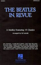 The Beatles In Revue SATB/Piano Vocal Choral Voice Learn Play Music Book