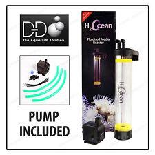 D&D H 2 Ocean fmr75 KIT letto fluidizzato media Reattore con pompa filtro sabbia ROWAPHOS