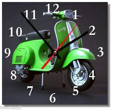 Sveglia da parete, orologio VESPA piaggio MDF wall clock wood,bar, pub