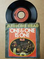 "Medicine Head One & One Vinyl,7"",45 RPM,Single 1973-Sammlung Rock-Classic Rock"