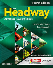 NEW HEADWAY ADVANCED Fourth Ed Student's Book with iTutor DVD-ROM & Online @New@