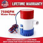 12V 750GPH Electric Submersible Bilge Water Pump For Boat Hulls Yacht RV Marine photo