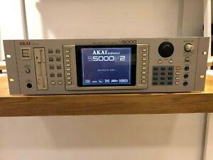 AKAI S5000 V2 Sampler USB, FX Board, 16 outputs, 128 voices, 72 RAM
