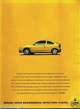 Publicité Advertising 1995 Renault Mégane Coupé