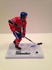 Michael Cammalleri Signed NHL Series 28 McFarlane COA Canadiens Flames Kings