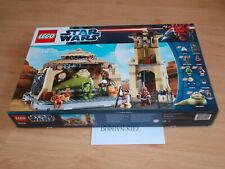 LEGO 9516 STAR WARS JABBA'S PALACE 7 fig BOUSHH HAN NEUF NEW never OPEN Scellé
