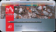 Caran D'ache Pablo Color Pencils Set Of 40 CREATIVE ART - FREE FAST SHIPPING -