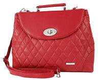NEW LADIES LEATHER Shoulder Bags Women Across Body Handbag Office UK