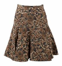 Knee-Length A-Line Dry-clean Only Floral Skirts for Women