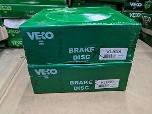 VECO BRAKE DISCS ( PAIR ) VL869 FITS MRCEDES G CLASS SPRINTER VOLKSWAGEN LT