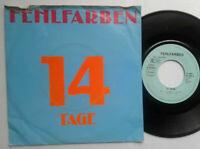 "Fehlfarben / 14 Tage 7"" Vinyl Single 1982 mit Schutzhülle"