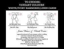 Card 10-50 Wedding Invitations