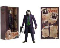 7'' Joker Batman The Dark Knight The Joker Heath Ledger PVC action Figure In box