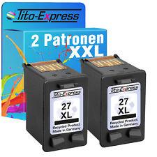 2x HP 27 XL Druckerpatronen für Officejet 5610 HP27