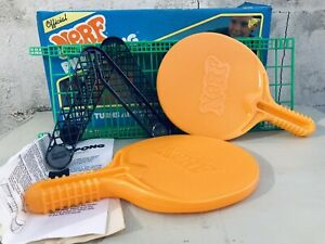 Vintage 1987 NERF PING PONG Parker Brothers Tabletop Game (No Balls)