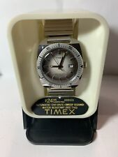 Vintage Timex Diver Automatic Water Resistant Day Mens NOS Running Rare!