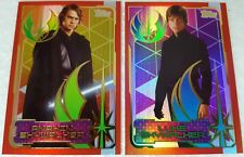 JOURNEY TO STAR WARS THE LAST JEDI Trading Card set of 16 JEDI Rainbow FOIL UK