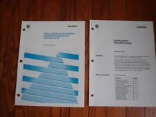 Allen Bradley Solid State Control Safety Guidelines & Esd Manuals. Set of 2