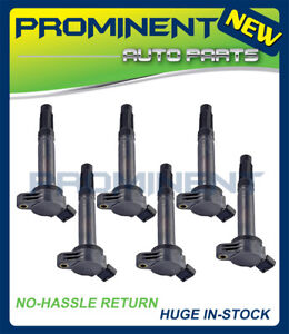 6 Ignition Coils Replacement for Camry Rav4 Avalon Lexus RX350 ES350 3.5L UF487