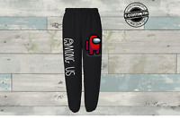 Among us sweatpants red crewmate