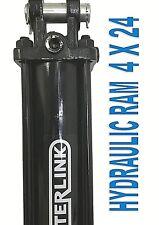 Hydraulic Ram / Cylinder 4 inch bore 24 inch stroke Clevis End