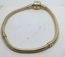 Pandora 7 Inch Charm/Bead Bracelet 14K Gold 585 ALE
