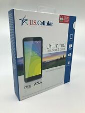 New & Sealed - US Cellular PREPAID - NUU Mobile A6L- UC Black - Android Oreo