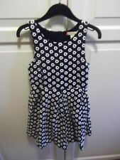 Ruby & Bloom Designer,Black & White Party Dress - Age 4 years (VGC)