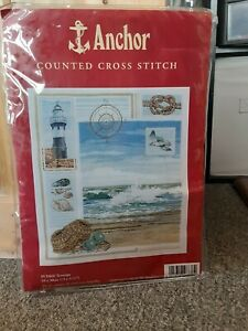 Anchor Counted Cross Stitch Kit PCE864 Seascape NEW