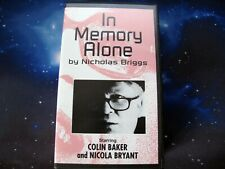 More details for in memory alone   bbv doctor who spin-off   colin baker   very rare vhs 1st ed.