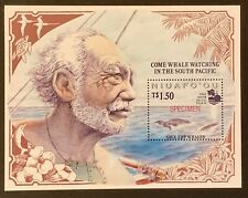 Niuafo'ou 'Save The Whale' Some with Rare optd SPECIMEN & Bromide Proofs 16 pics