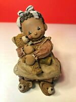 """All God's Children"", Martha Holcombe Figurine Art, RagBaby 'Josie', #10, 1995"