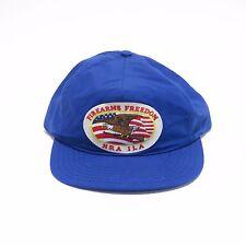 VINTAGE NATIONAL RIFLE ASSOCIATION NRA ILA SNAPBACK HAT BLUE