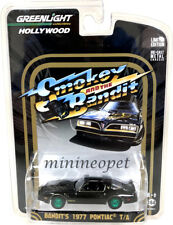 GREENLIGHT 44610 SMOKEY & BANDIT 1977 PONTIAC TRANS AM T/A 1/64 Series 1 Chase