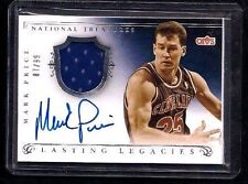 Mark Price National Treasures LASTING LEGACIES Jersey Auto #/99! On-Card! MISCUT