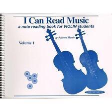 """I Can Read Music"" Volume 1 Violin Music Book-Brand New Sale-Spiral Bound!"