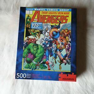 Aquarius Marvel AVENGERS 500 Piece Jigsaw Puzzle 100th Issue by Arthur Adams