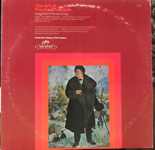 Feodor Chaliapin - The Art Of Feodor Chaliapin LP EXC 60218 Vinyl Record Faust