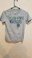 Golden State Warriors Gray T-Shirt tee Size Child M (10-12) NBA
