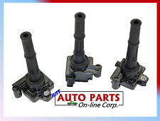 3-IGNITION COILS FOR TOYOTA 4RUNNER 3.4L 1996-2002 PICKUP TACOMA 1995-2004 5VZFE