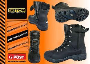 Freezer Work Boot Zip Polar Gator Cool Room GP2404 Thinsulate 600g Safety Toe