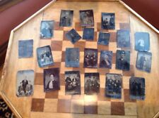 Lot Of Tin Type Photos