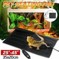 Pet Reptile Electric Heating Heated Dog Cat Pad Mat Thermal Warmer Rug Blanket