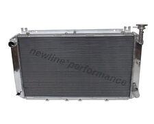 5 Rangée radiateur en aluminium pour NISSAN GQ PATROL Y60 moteur essence 4.2 L 1987-1997 MT