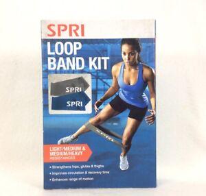 New, Sealed SPRI Loop Band Kit with Light/Medium & Medium/Heavy Resistance Bands